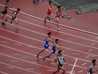 男子 4×100mR(予選)【第3走者→第4走者】