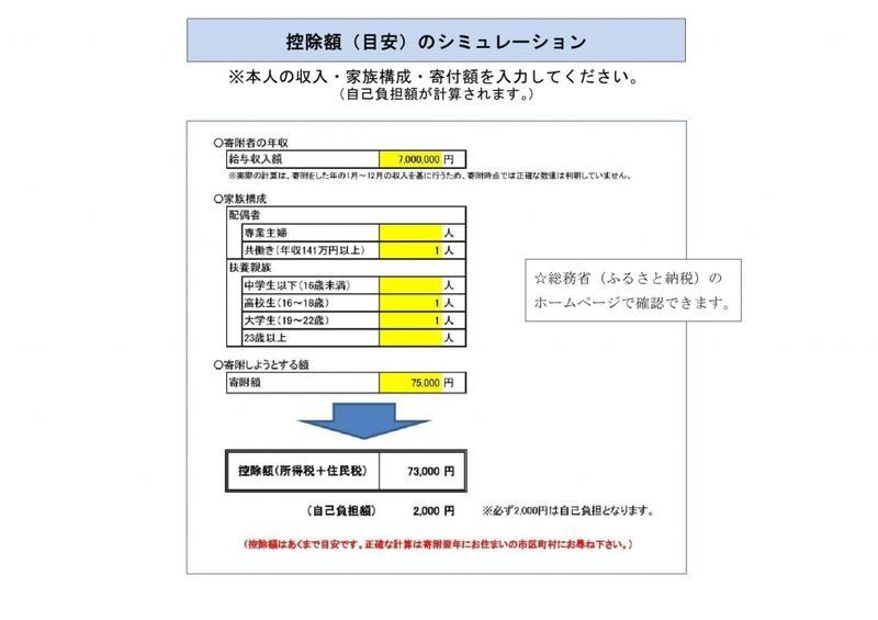ふるさと納税チラシ(4)