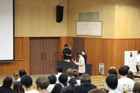 生徒会主催の全国大会壮行会