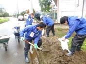 常総市水害ボランティア活動