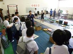 施設見学 トレーニング室